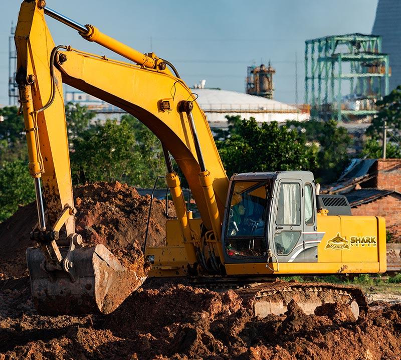 Sewer excavation services denver colorado - SHark Sewer
